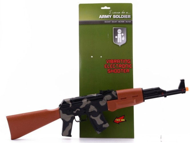Johntoy Machine Geweer Trillend 62 cm