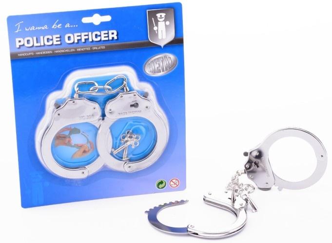 Johntoy Politie Metalen Handboeien