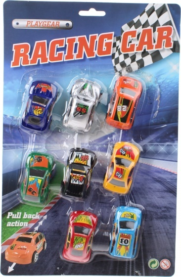 Johntoy raceautoset Playgear 8 delig