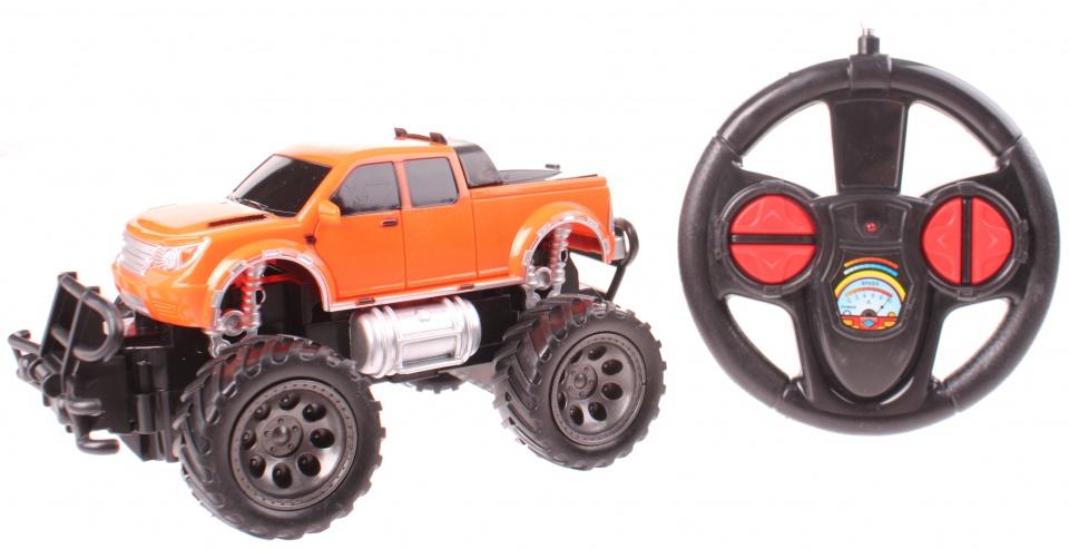 Johntoy rock crawler off road auto schaal 1:24 oranje