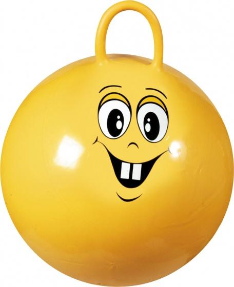 Johntoy skippybal Outdoor Fun 50 cm geel