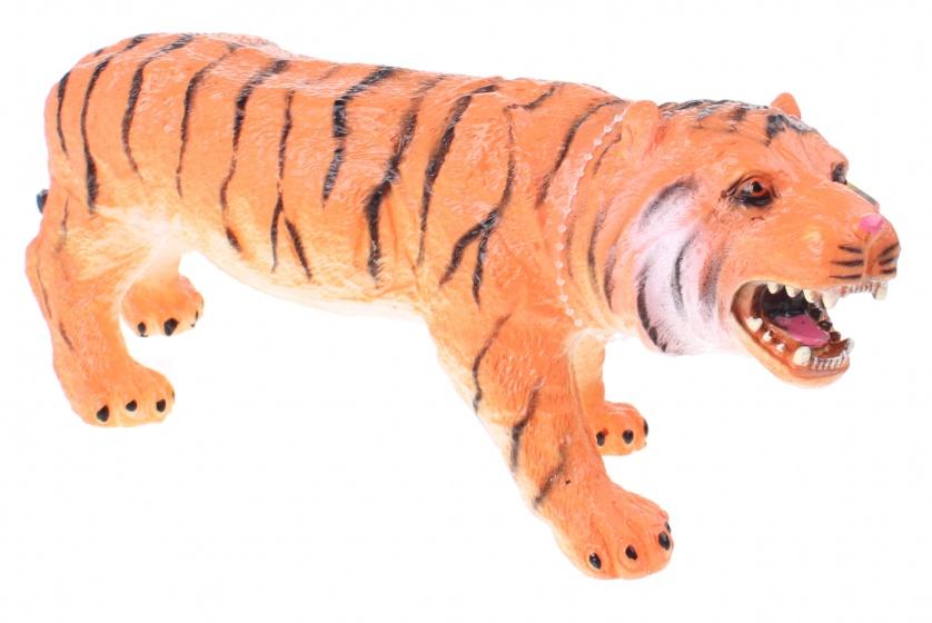 Johntoy Tijger Animal World 28 Cm Oranje