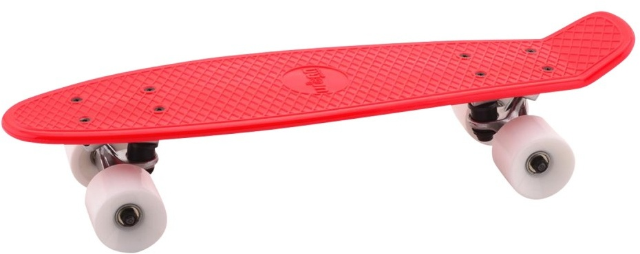 Johntoy Urban District Skateboard rood 55 cm