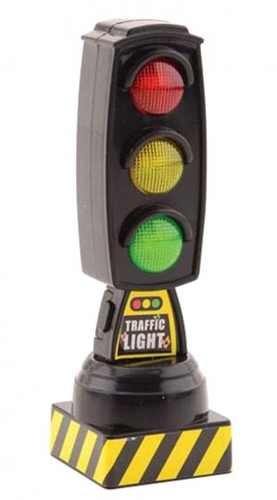 Johntoy verkeerslicht met geluid 13 cm