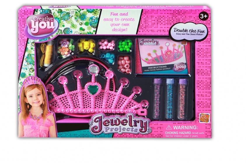 Jonotoys Creative You Jewelry Projects meisjes roze 12 delig