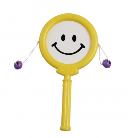 Jonotoys Drum stick 10 cm geel
