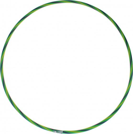 Jonotoys hoelahoep met kralen groen 67 cm kopen