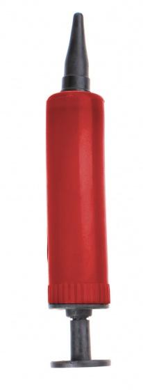 Jonotoys pomp met modelleerballonnen 40 stuks rood