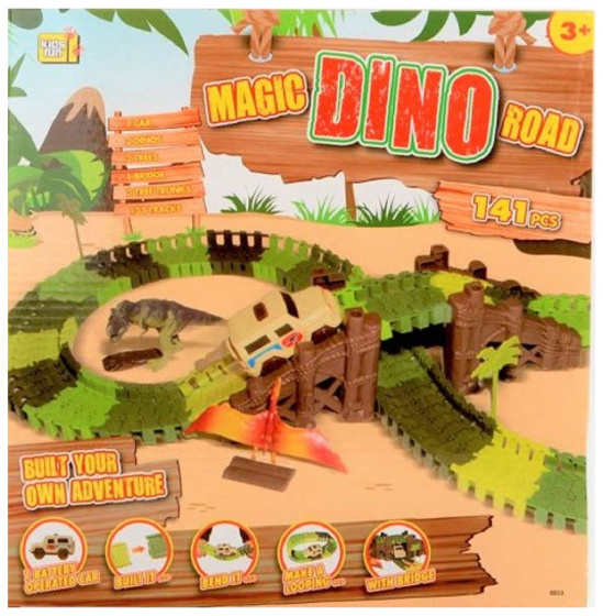 track Magic Road Dinojunior 141-piece