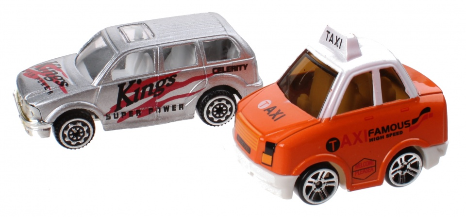 Jonotoys speelset City Sports Car jongens oranje/zilver 11 delig