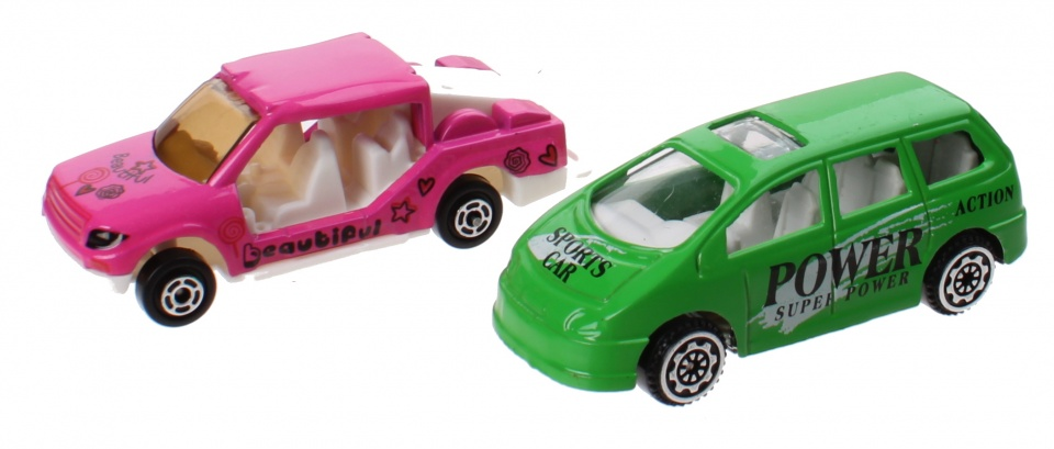 Jonotoys speelset City Sports Car jongens roze/groen 11 delig