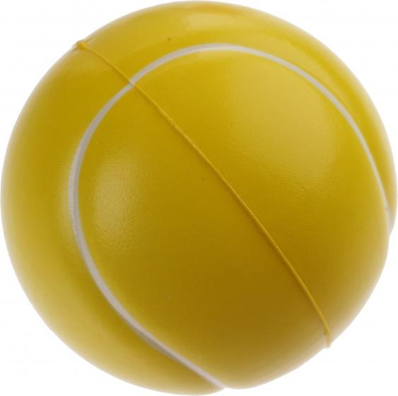 Jonotoys tennisbal soft geel 6,5 cm