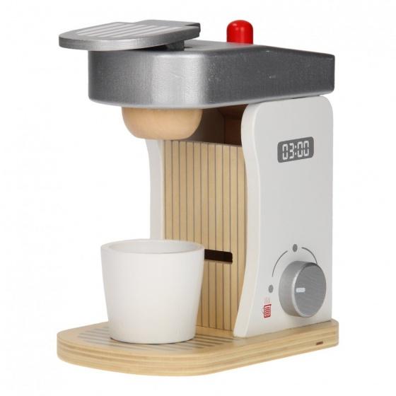 Jouéco houten koffieapparaat 18 cm 8 delig