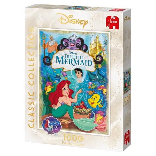 Jumbo Classic Disney De Kleine Zeemeermin puzzel 1000 stukjes