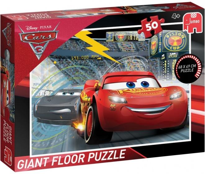 Jumbo Disney Cars vloerpuzzel 50 stukken