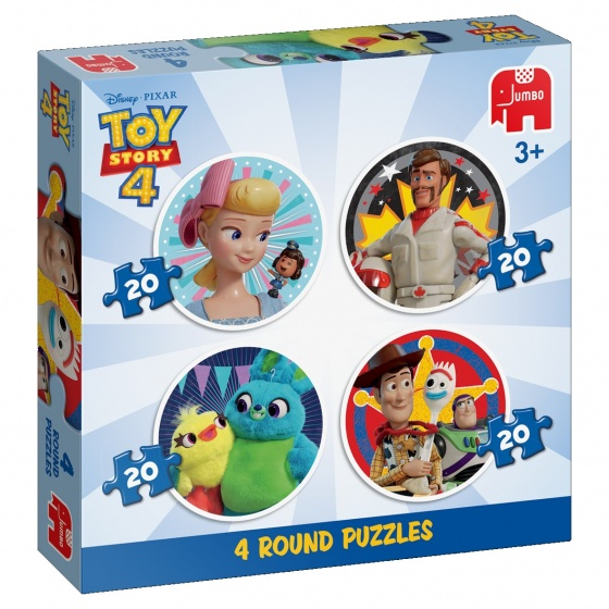 Jumbo Disney Toy Story 4 puzzel 4 in 1 20 stukjes