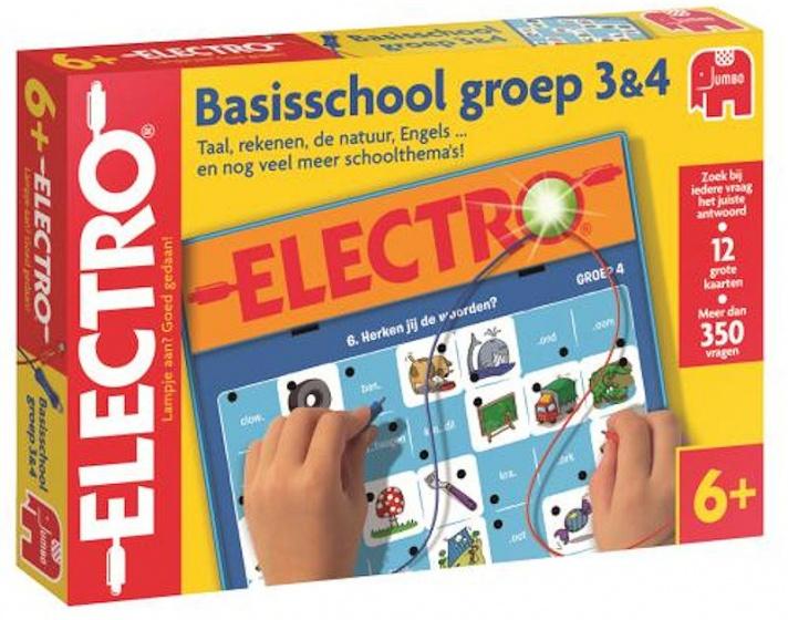 Jumbo Electro basisschool groep 3 & 4 leerspel