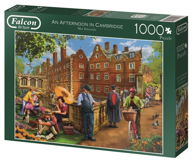 Jumbo Falcon Afternoon in Cambridge legpuzzel 1000 stukjes