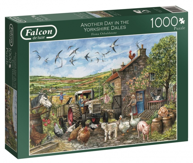 Jumbo Falcon Another Day in the Dales legpuzzel 1000 stukjes