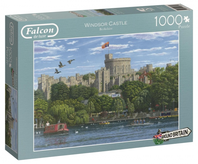 Around Britain Windsor - Puzzel 1000 stukjes