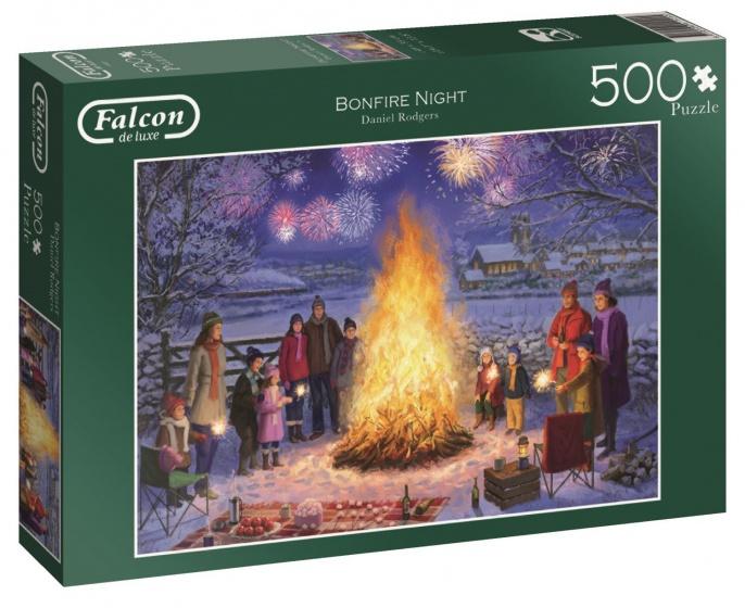 Jumbo Falcon Bonfire Night legpuzzel 500 stukjes