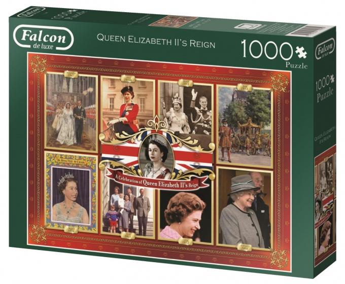 Jumbo Falcon Elizabeth II's Reign legpuzzel 1000 stukjes