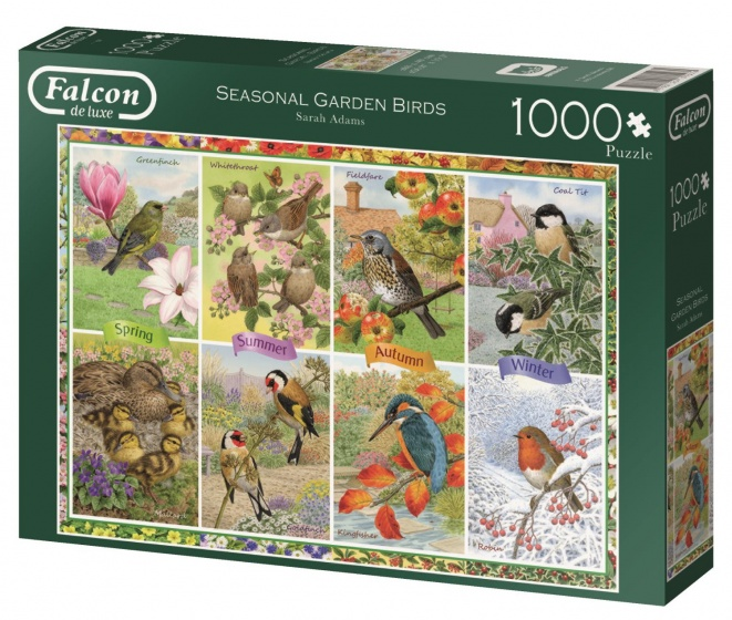 Jumbo Falcon Garden Birds legpuzzel 1000 stukjes