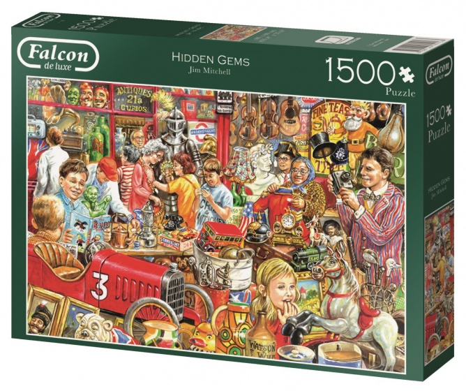 Jumbo Falcon Hidden Gems Jigsaw Puzzle 1500 Pieces