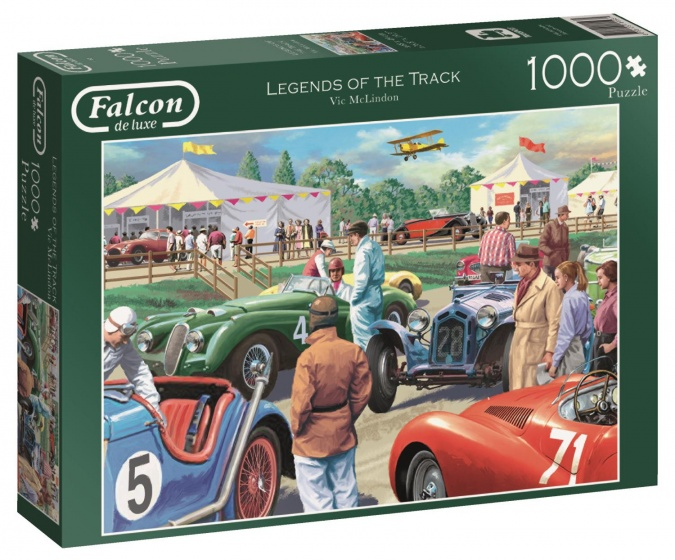 Jumbo Falcon Legends Of The Track legpuzzel 1000 stukjes