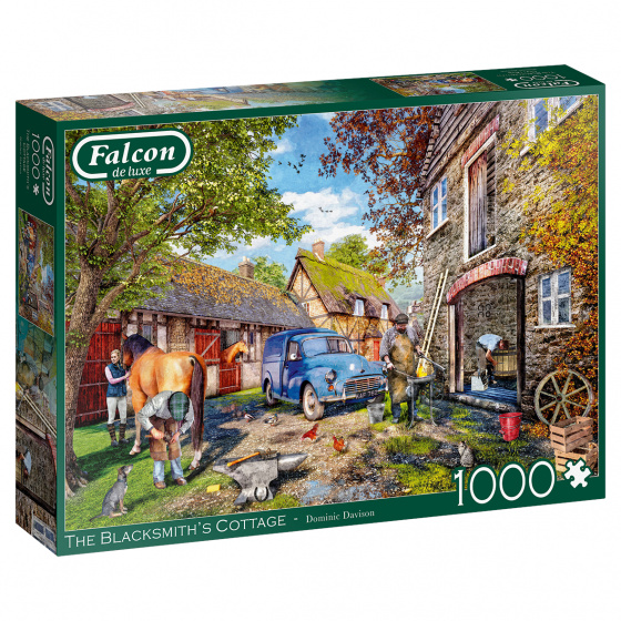 Jumbo Falcon legpuzzel The Blacksmith's Cottage 1000 stukjes