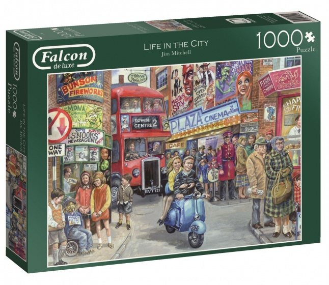 Jumbo Falcon Life in the City legpuzzel 1000 stukjes