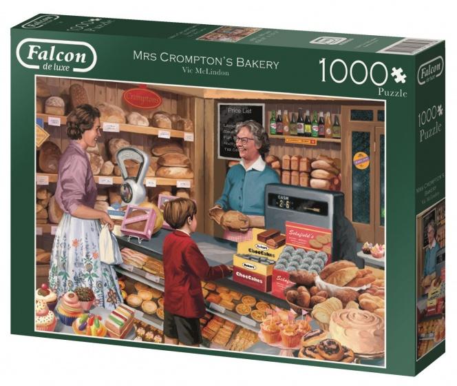 Jumbo Falcon Mrs Crompton's Bakery legpuzzel 1000 stukjes