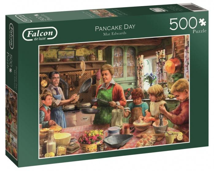 Jumbo Falcon Pancake Day legpuzzel 500 stukjes