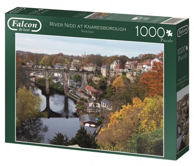 Jumbo Falcon River Nidd at Knaresborough legpuzzel 1000 stukjes