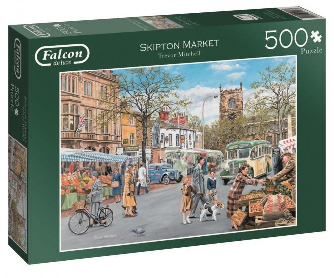 Jumbo Falcon Skipton Market legpuzzel 500 stukjes