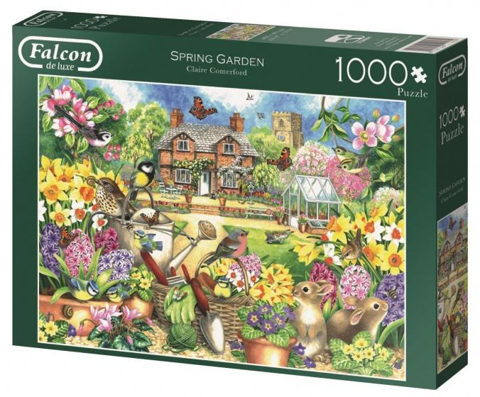 Jumbo Falcon Spring Garden legpuzzel 1000 stukjes