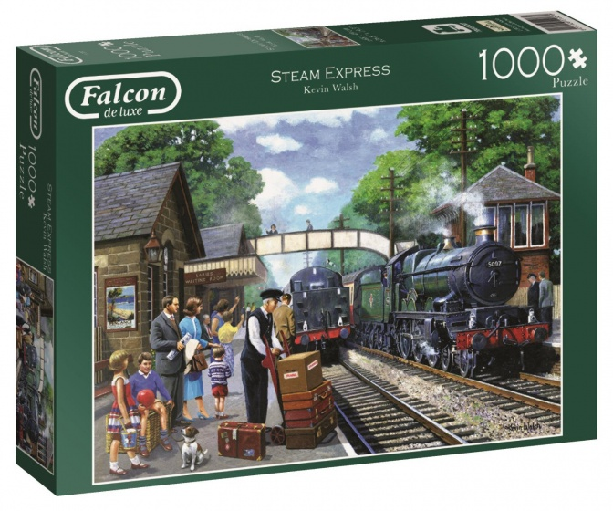 Jumbo Falcon Steam Express legpuzzel 1000 stukjes