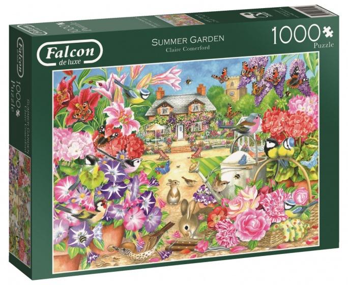 Jumbo Falcon Summer Garden legpuzzel 1000 stukjes