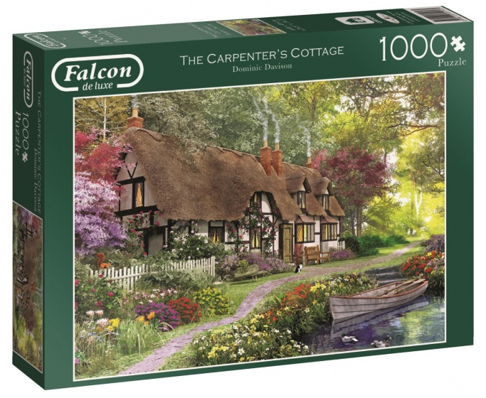 Jumbo Falcon The Carpenter's Cottage legpuzzel 1000 stukjes