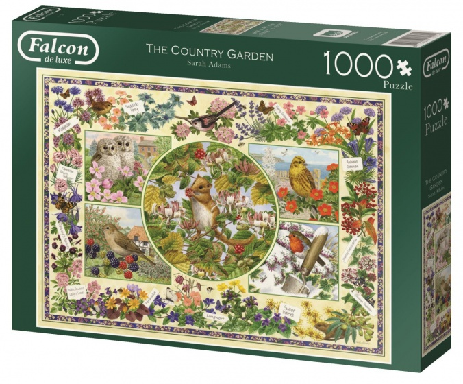 Jumbo Falcon The Country Garden legpuzzel 1000 stukjes