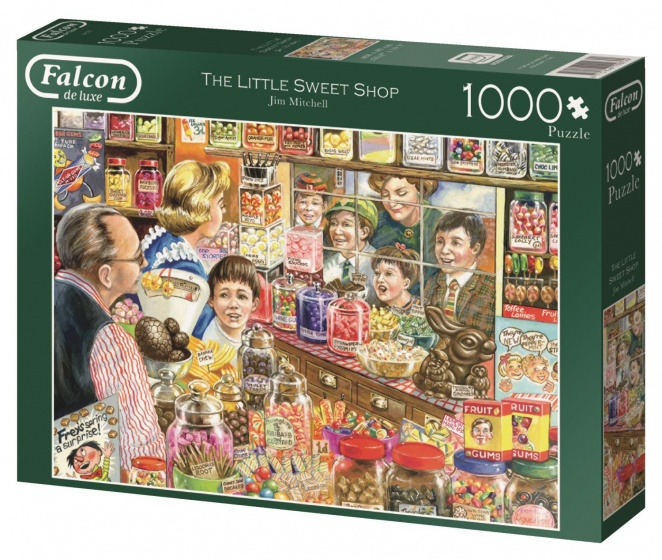 Jumbo Falcon The Little Sweet Shop legpuzzel 1000 stukjes