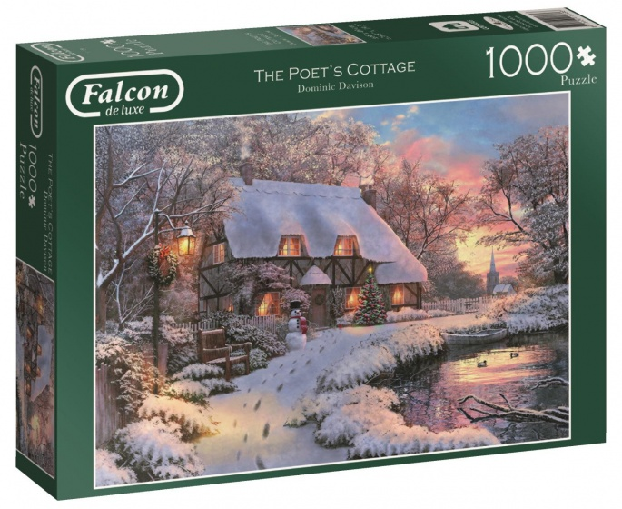 Jumbo Falcon The Poet's Cottage legpuzzel 1000 stukjes