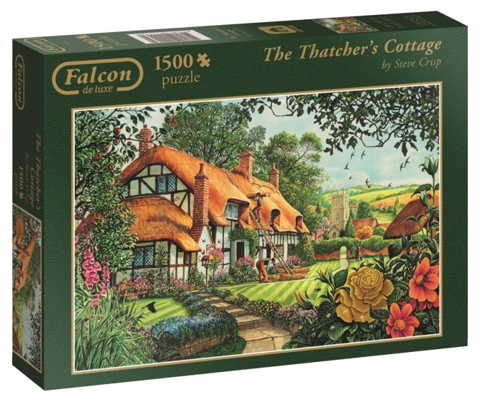 Jumbo Falcon The Thatcher's Cottage legpuzzel 1500 stukjes