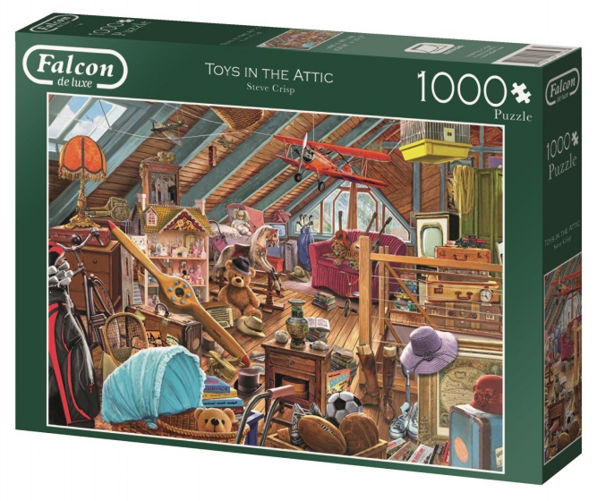Jumbo Falcon Toys in the Attic legpuzzel 1000 stukjes