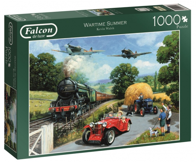 Jumbo Falcon Wartime Summer legpuzzel 1000 stukjes