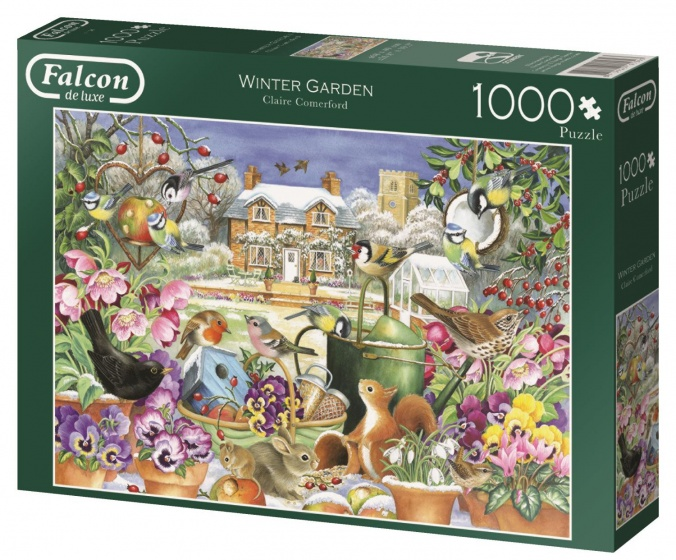 Jumbo Falcon Winter Garden legpuzzel 1000 stukjes