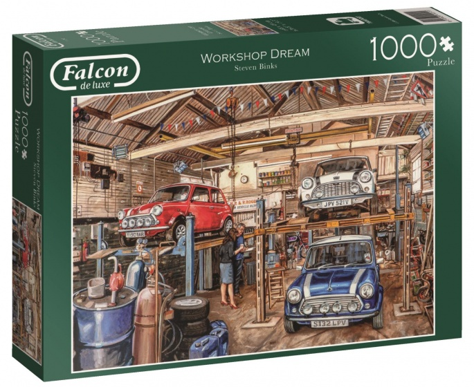 Jumbo Falcon Workshop Dream legpuzzel 1000 stukjes