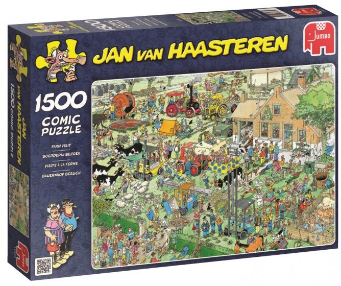 Jumbo Jan van Haasteren Boerderij Bezoek legpuzzel 1500 stukjes