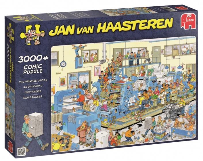 Jumbo Jan van Haasteren De Drukkerij legpuzzel 3000 stukjes