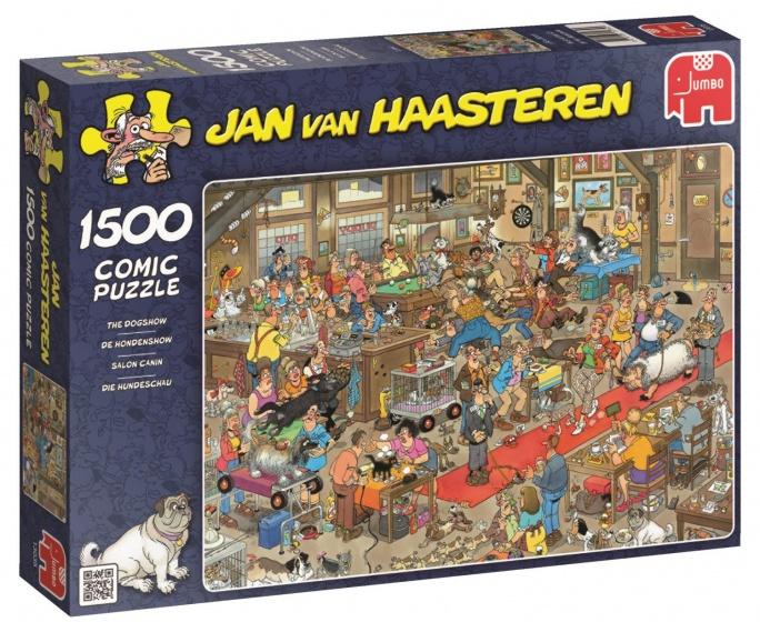 Jumbo Jan van Haasteren De Hondenshow legpuzzel 1500 stukjes